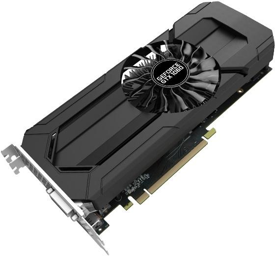 PALIT GeForce GTX 1060 StormX OC 6GB, - Graphics card | Graphics