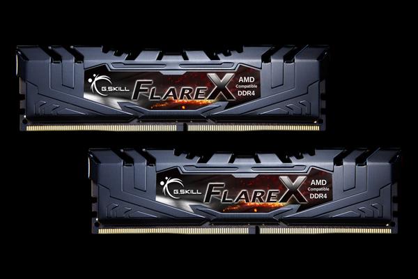 G Skill 32GB (2x16GB) Flare X, DDR4 2933 MHz - Black | Memory