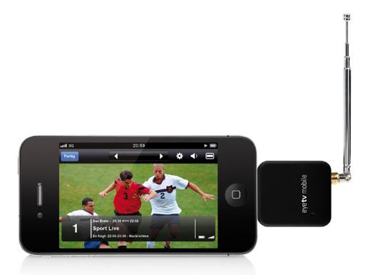 Elgato EyeTV Mobile DTT TV Tuner for iPad 2 / iPad 3 | TV Cards