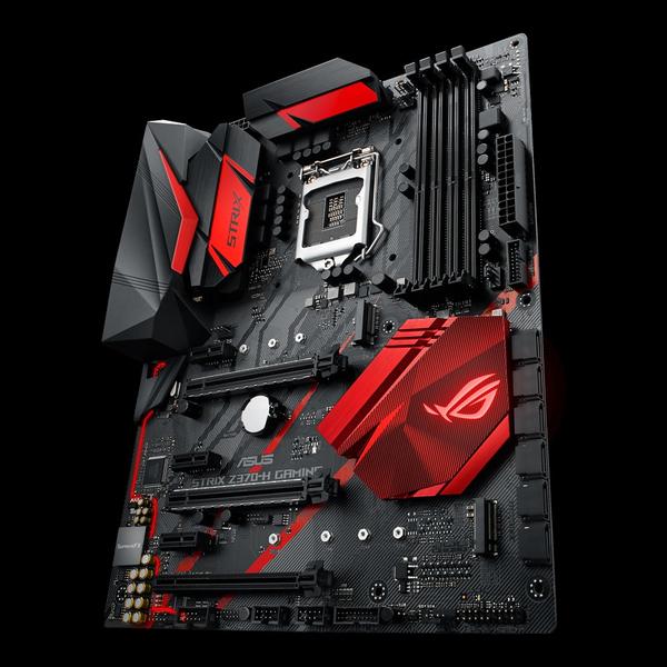 Asus ROG Strix Z370-H Gaming, ATX motherboard   Motherboards