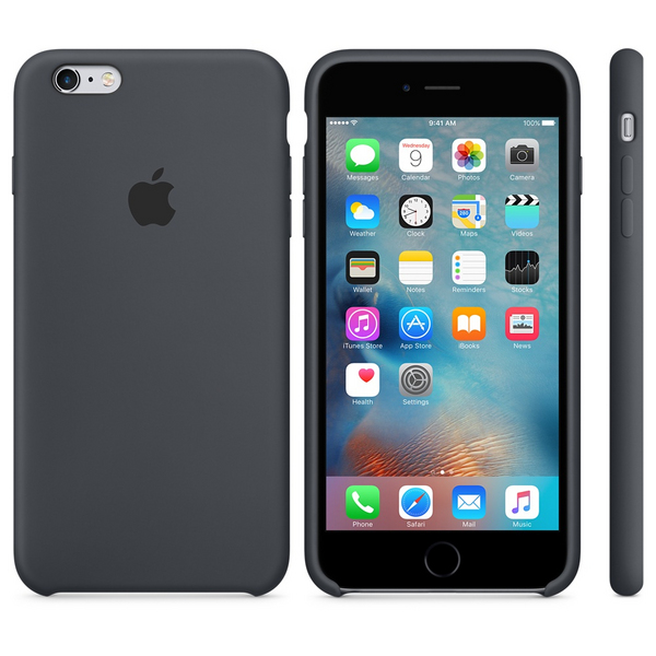 iPhone 6s Plus Silicone Case - Charcoal Grey  7ae5a26100e82