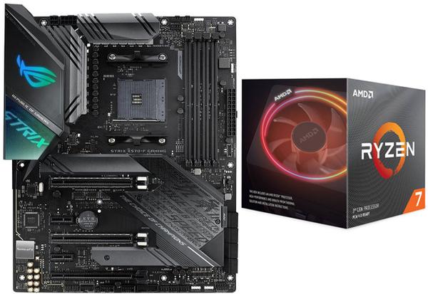 Bundle Asus Rog Strix X570 F Gaming Amd Ryzen 7 3700x Wraith Prism Cooler Bundle Offers Components Multitronic