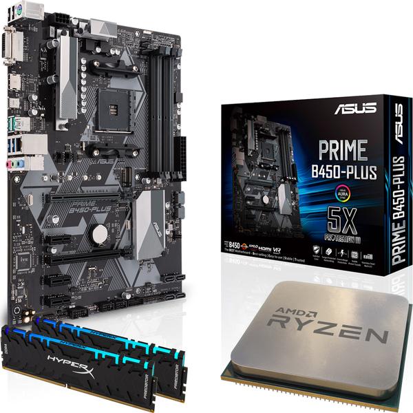 Bundle + Kingston 16GB HyperX Predator DDR4 + AMD Ryzen 5
