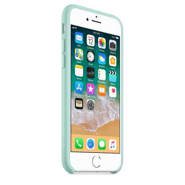 low priced fc453 4c4db Apple iPhone 8 / 7 Silicone Case - Marine Green | Phone covers ...