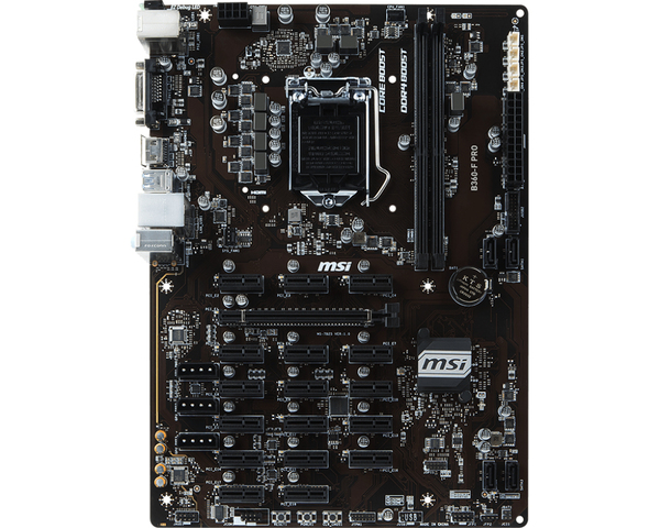 MSI B360-F Pro, ATX motherboard | Motherboards | Components
