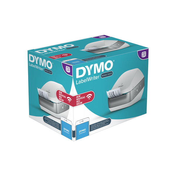 DYMO LabelWriter Wireless, NEU S/N/DK/FIN, vit | Label