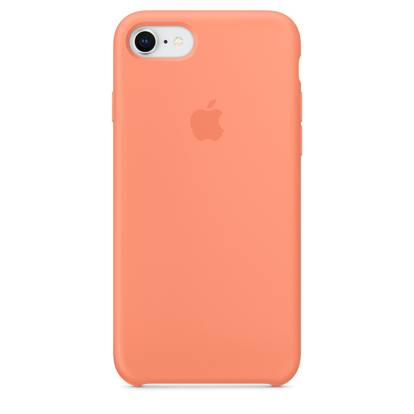 Apple Iphone 8 7 Silicone Case Peach Phone Covers Cases And
