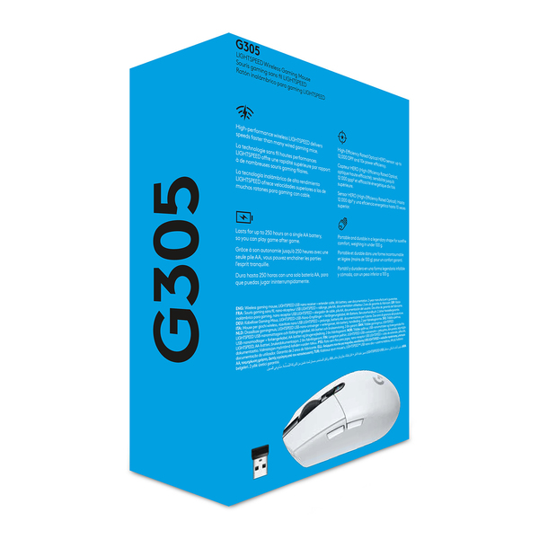 Logitech G305 Recoil - wireless gaming mouse, White | Mice