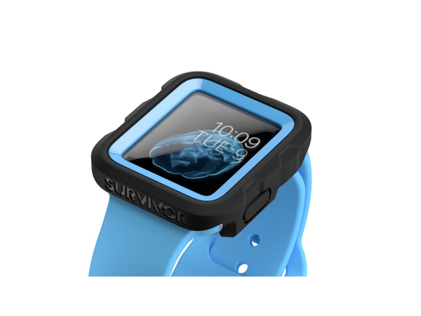sale retailer 3fbe1 aa97d GRIFFIN Survivor Tactical Case Apple Watch 42mm Blue | Watch | Cases ...