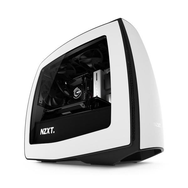 NZXT Manta Mini-ITX Case - Matte White Window   Mini-ITX   Cases   Components   Multitronic
