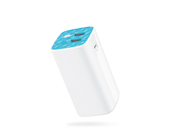 Tp Link 10400mah Power Bank 2 Usb Ports 5v1a 5v2a